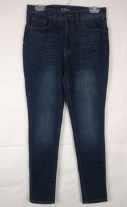 Time And Tru High Rise Skinny Leg Jeans Size 12